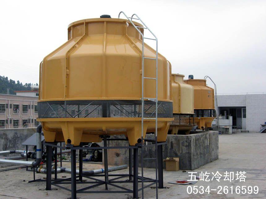 定制 浙江玻璃钢冷却塔五屹冷却塔厂最新冷却塔工作原理图