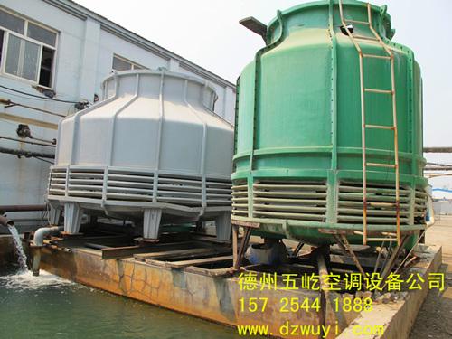定制 珠海玻璃钢冷却塔选型五屹空调公司冷却塔参数供选