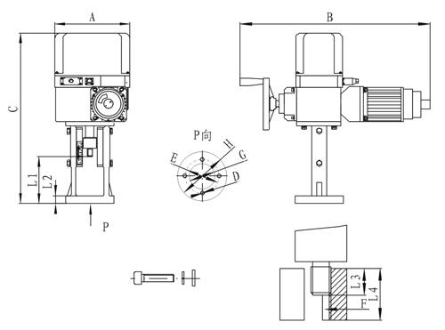 ●本产品适配的的伺服放大器型号如下:ZPE-2030 ZPE-3101图片
