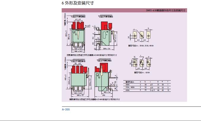 DW15 2500 热电磁式手动快速 控制电压 AC220V CHINT 正泰万能断图片