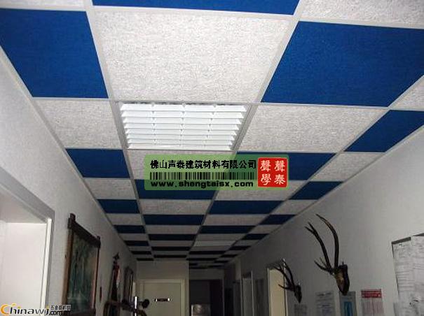 供应 会议室,图书馆天花吊顶专用水泥木丝吸音板,复合木丝吸音板价
