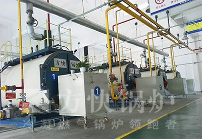 卧式燃气热水锅炉厂家 燃气热水锅炉运行原理 方快锅炉